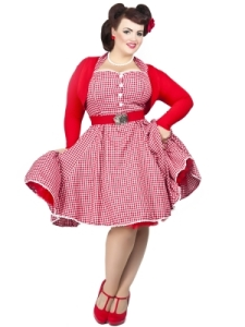 Gretel Gingham Dress Georgina